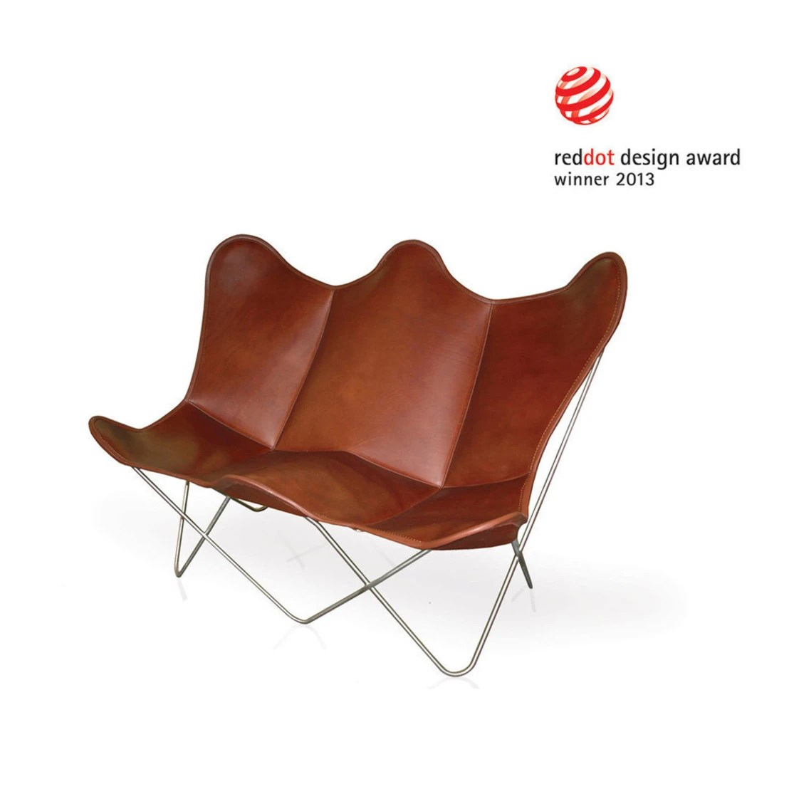 Butterfly Chair Leder Butterfly Twin Chair By Weinbaums Gmbh Homify