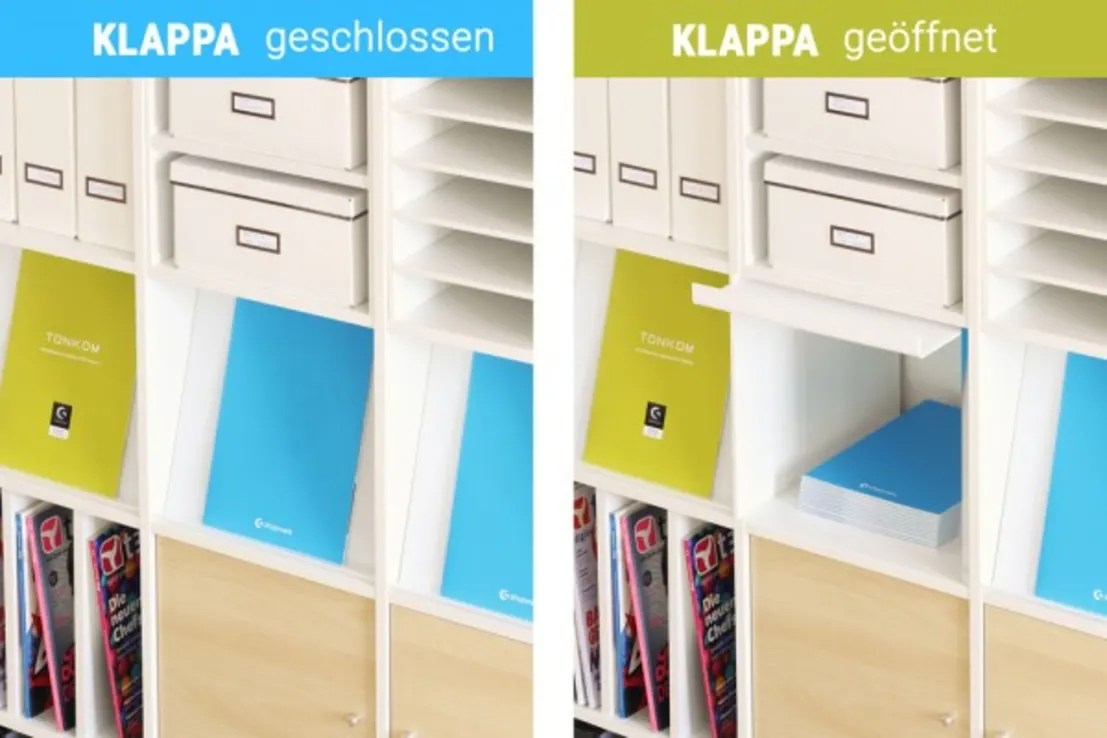 Ikea Expedit Länge Klappa Prospektklappe Für Ikea Kallax Regal Von Nsd New Swedish