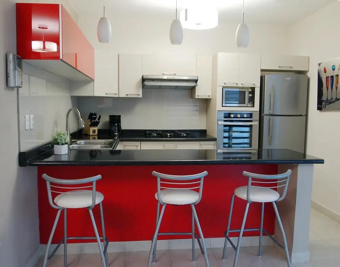 geschmackvolle design ideen kleine kuche kleine kchen ideen ...