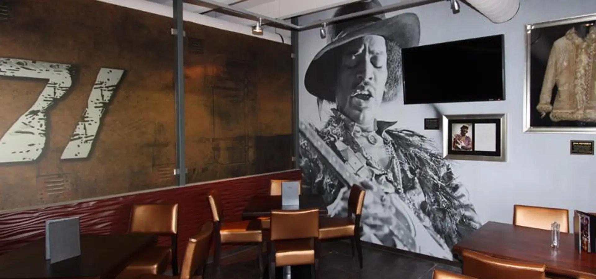 Wandgestaltung Im Hard Rock Cafe Von Wallunica Wanddesign Nach