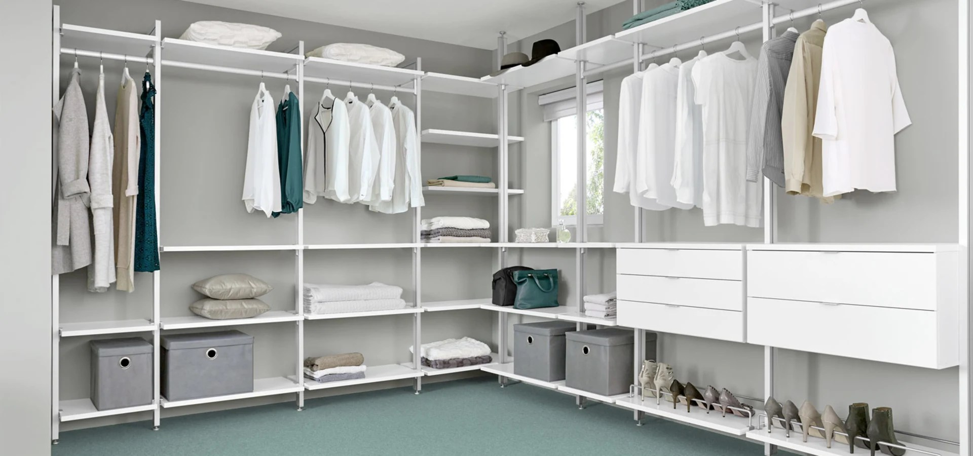 Regalraum Walk In Wardrobe By Regalraum Uk Homify