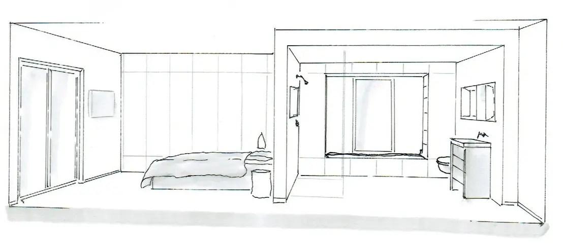 Emejing Schlafzimmer Zeichnen Ideas   Barsetka   Barsetka, Badezimmer
