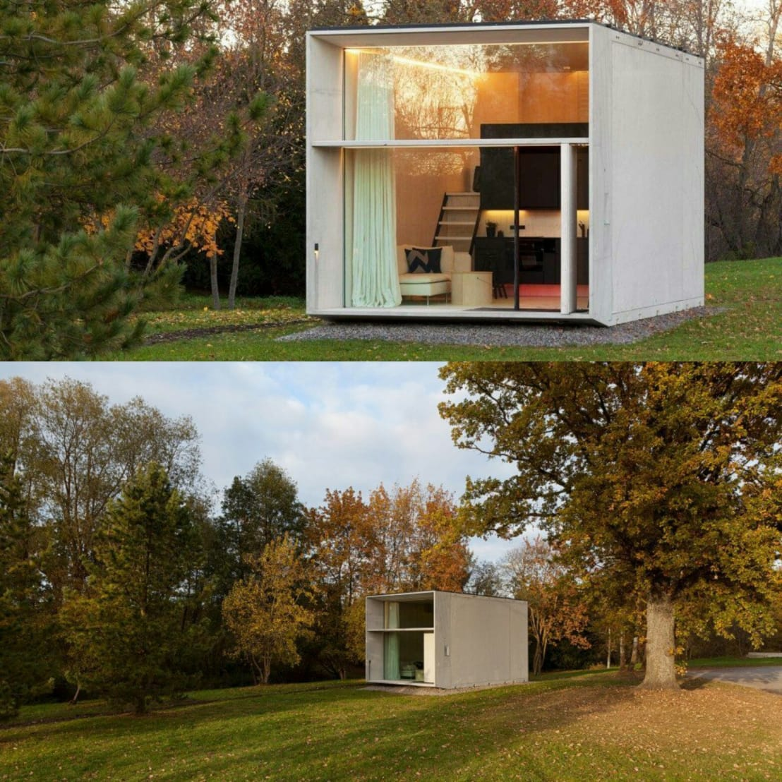 Modulhaus Modern Modulhaus By Exellentworkers Homify