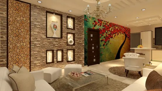 Latest Wall Tiles Design For Living Room In India 15 Creative Interior Design Ideas For Indian Homes