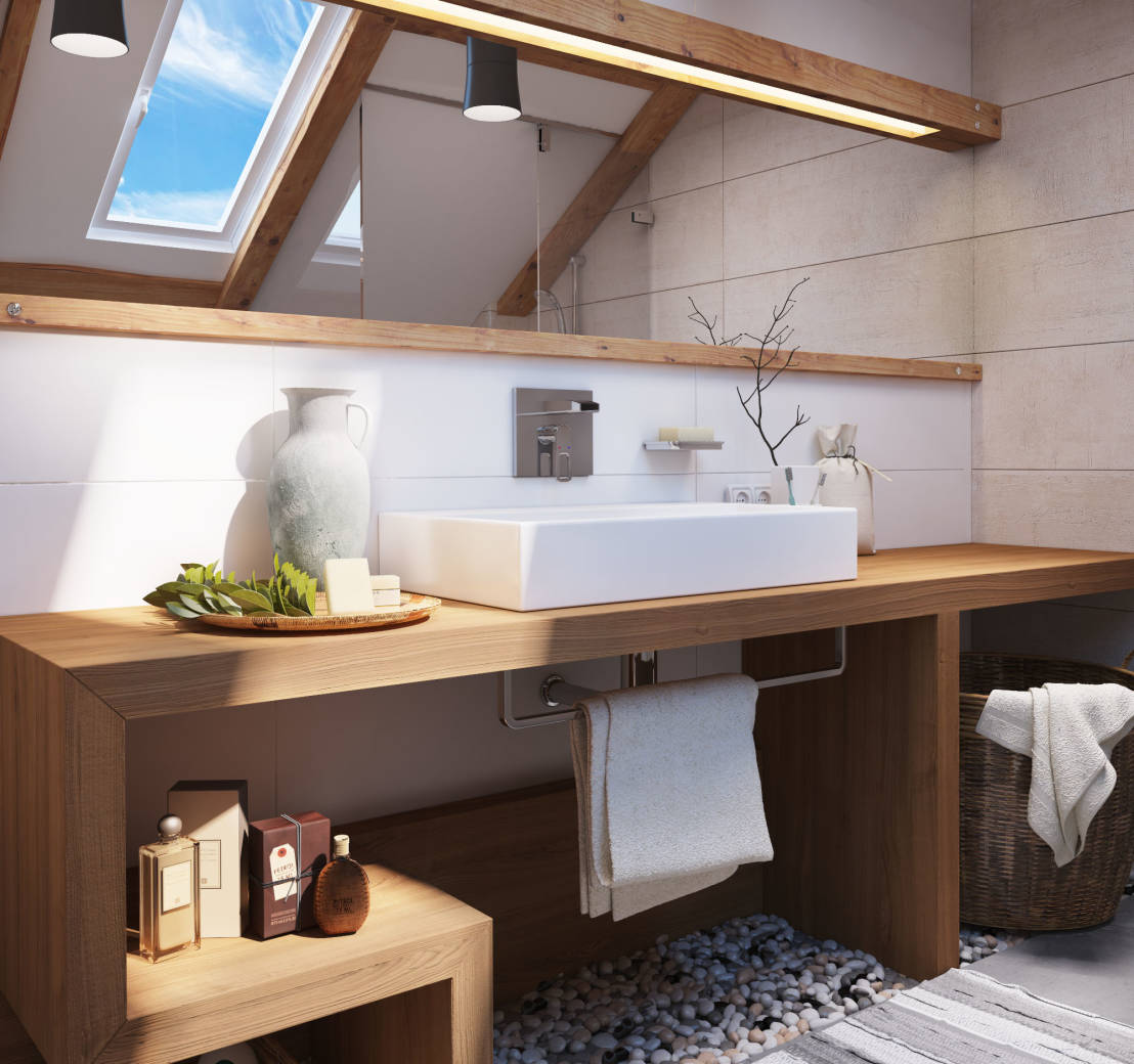 Salle De Bain Nature Chic 9 Simple Tricks To Make Your Bathroom Look Like It 39s From