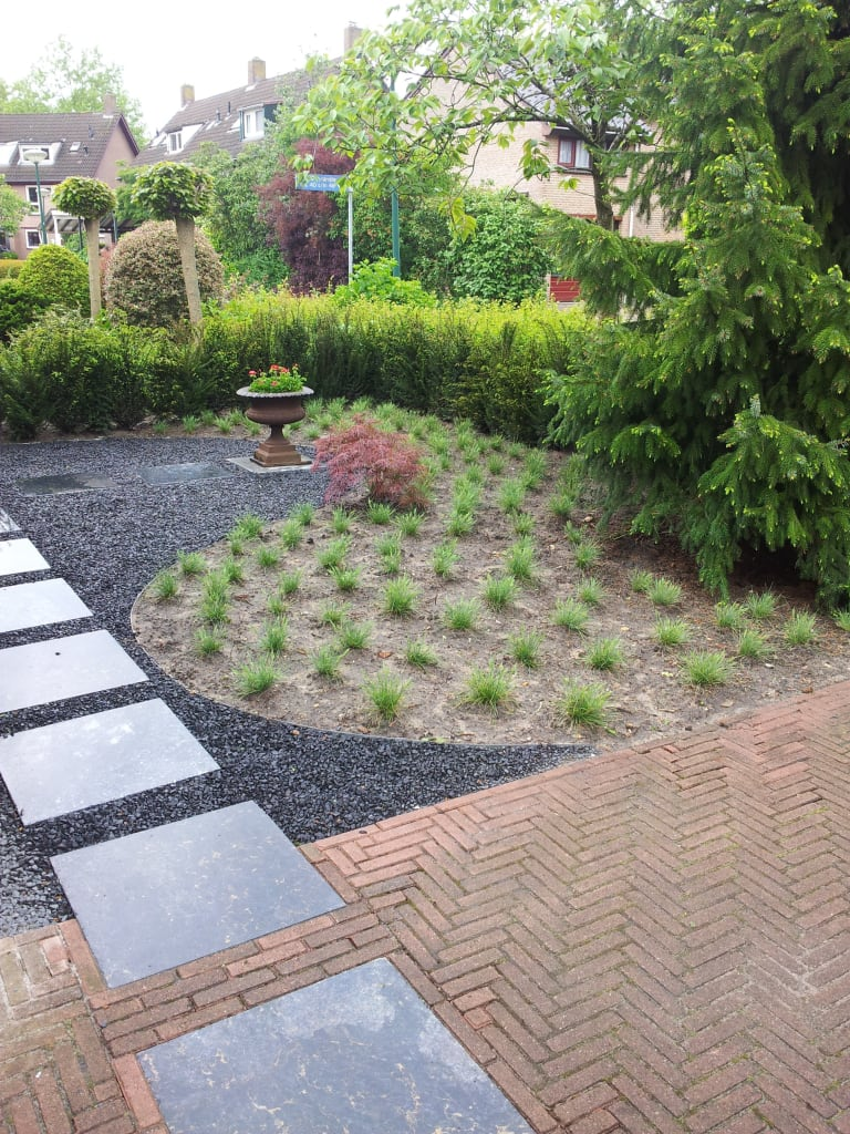 Mocking Hoveniers Moderne Voortuin Tuin Door Mocking Hoveniers Homify