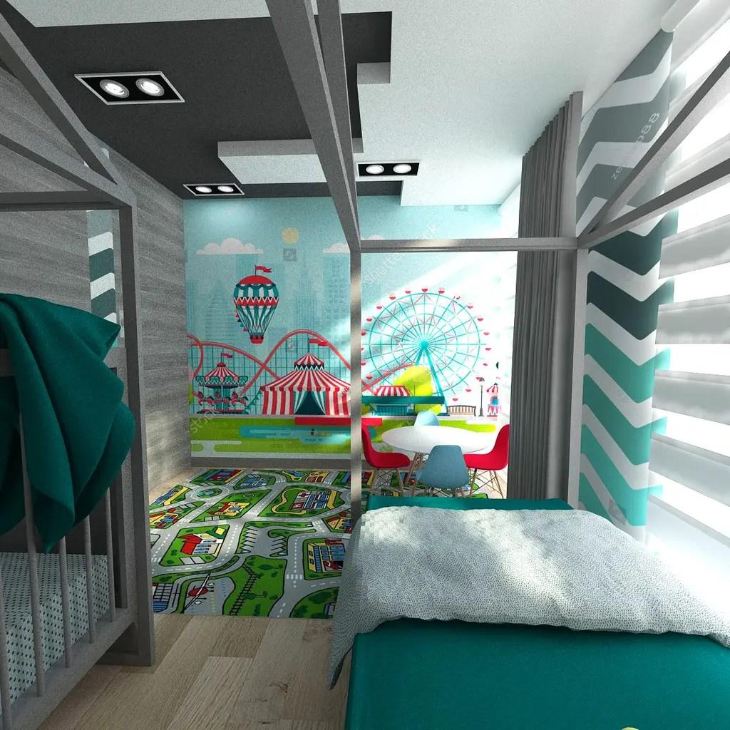 Kinderzimmer In Türkis | Kinderzimmer Junge Turkis Ideen Kinderzimmer Junge Wand Jungen