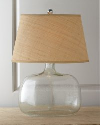 Regina-Andrew Design Seeded Glass Table Lamp