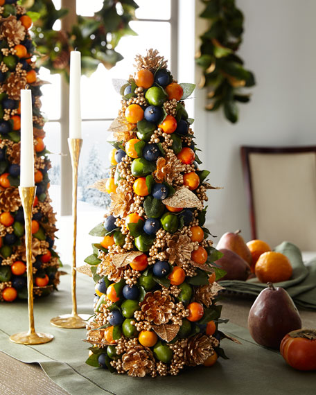 Salzburg Creations Autumn Beauty Tabletop Christmas Tree - 18\