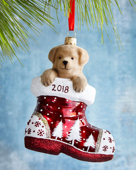Mattarusky Ornaments Charlie in the Boot Annual Ornament