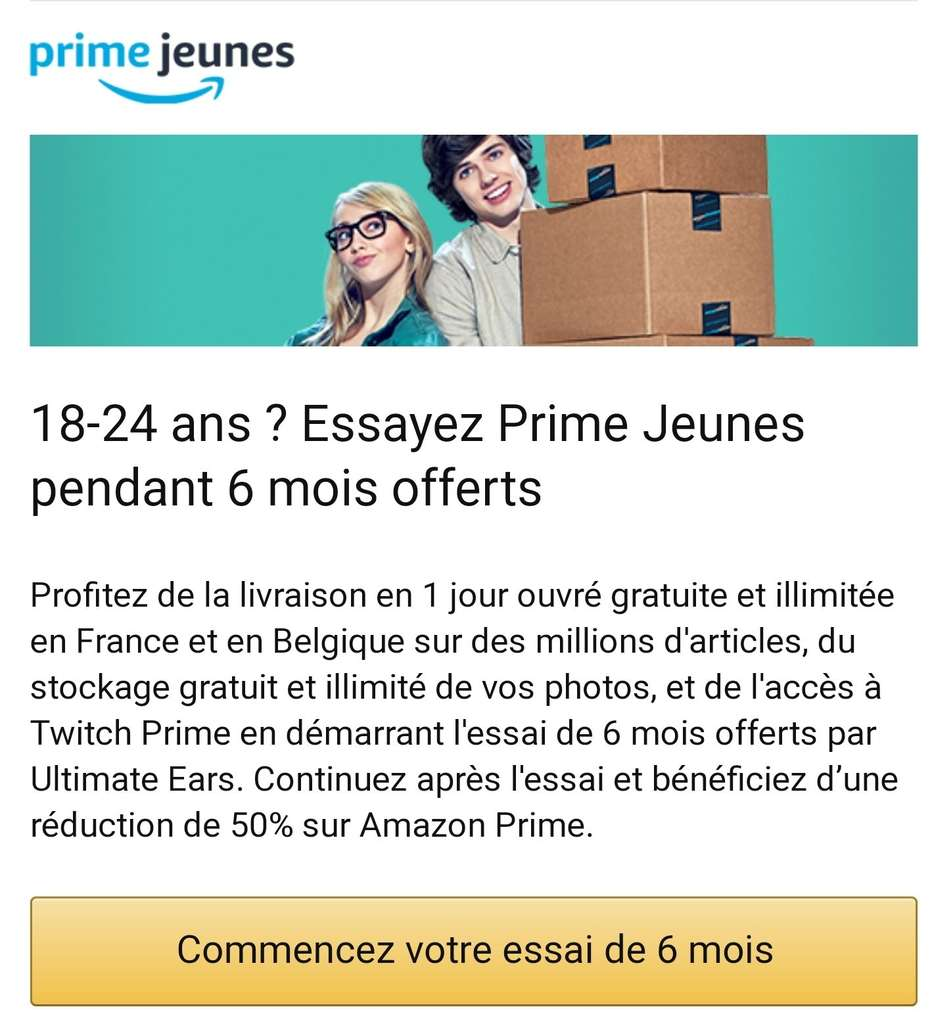 Amazon Usa Livraison France Get 6 Months Of Prime Video And Prime Music For Free Amazon