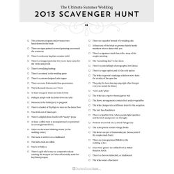 Small Crop Of Photo Scavenger Hunt Ideas