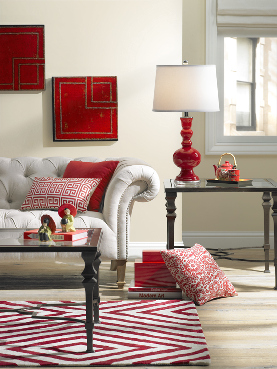 Fall Rug Wallpaper A Colorful Living Room Decorating Idea One Room Three