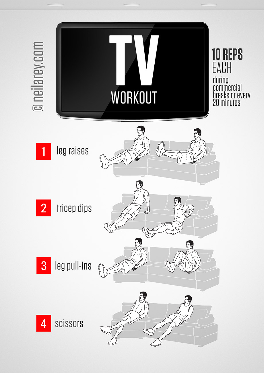 Sofa Workout Get Fit While Watching Tv Huffpost Life