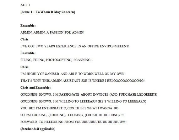 To Whom It May Concern How to Get a Job Interview With a Joke - to whom it may concern letter