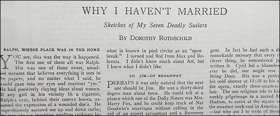 Condé Nast Hired Dorothy Parker 100 Years Ago HuffPost - dorothy parker resume