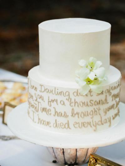 10 Wedding Cakes That Almost Look Too Pretty To Eat | HuffPost