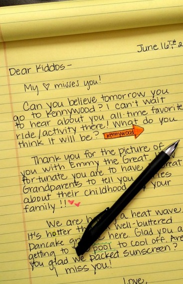 Memories of the Hand-Written Letter HuffPost