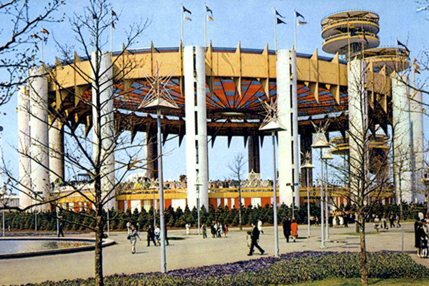 Remains Lighting New York Then And Now Photos Of Philip Johnson's 1964 World's Fair