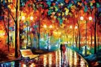 Rain's Rustle II Canvas Art by Leonid Afremov   iCanvas