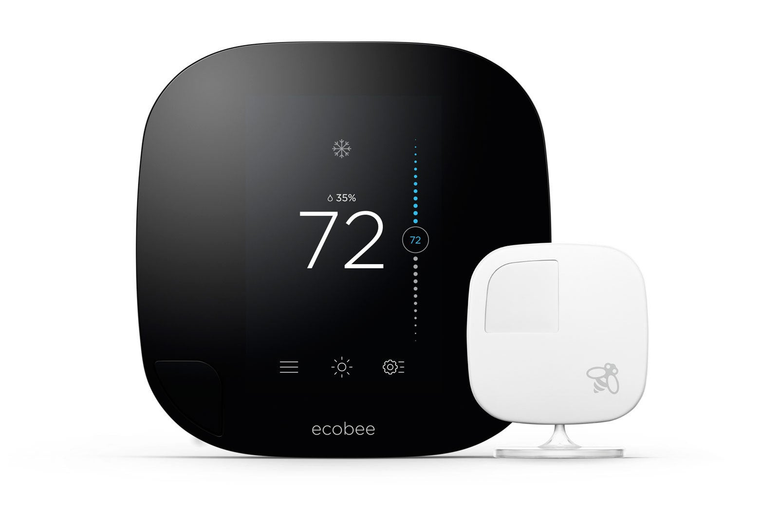 Ecobee Sensor Ecobee3 Smart Thermostat Review It S All About That Sensor Techhive
