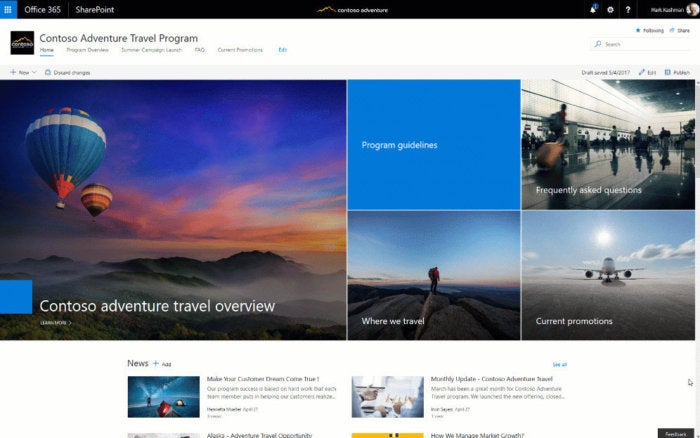 8 tips to get started with SharePoint communication sites