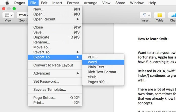 How to open Microsoft Word documents in Apple Pages on a Mac Macworld