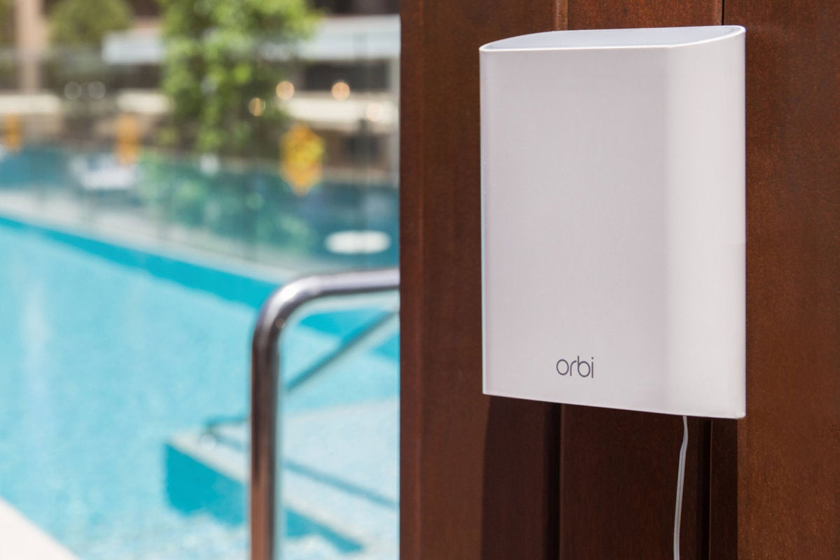 Pool Kaufen Test Netgear Orbi Outdoor Satellite Review Great Range But Only So So