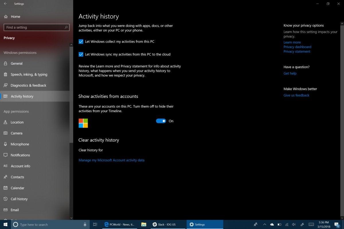 Windows 10 Timeline How to use Microsoft\u0027s new organizational tool