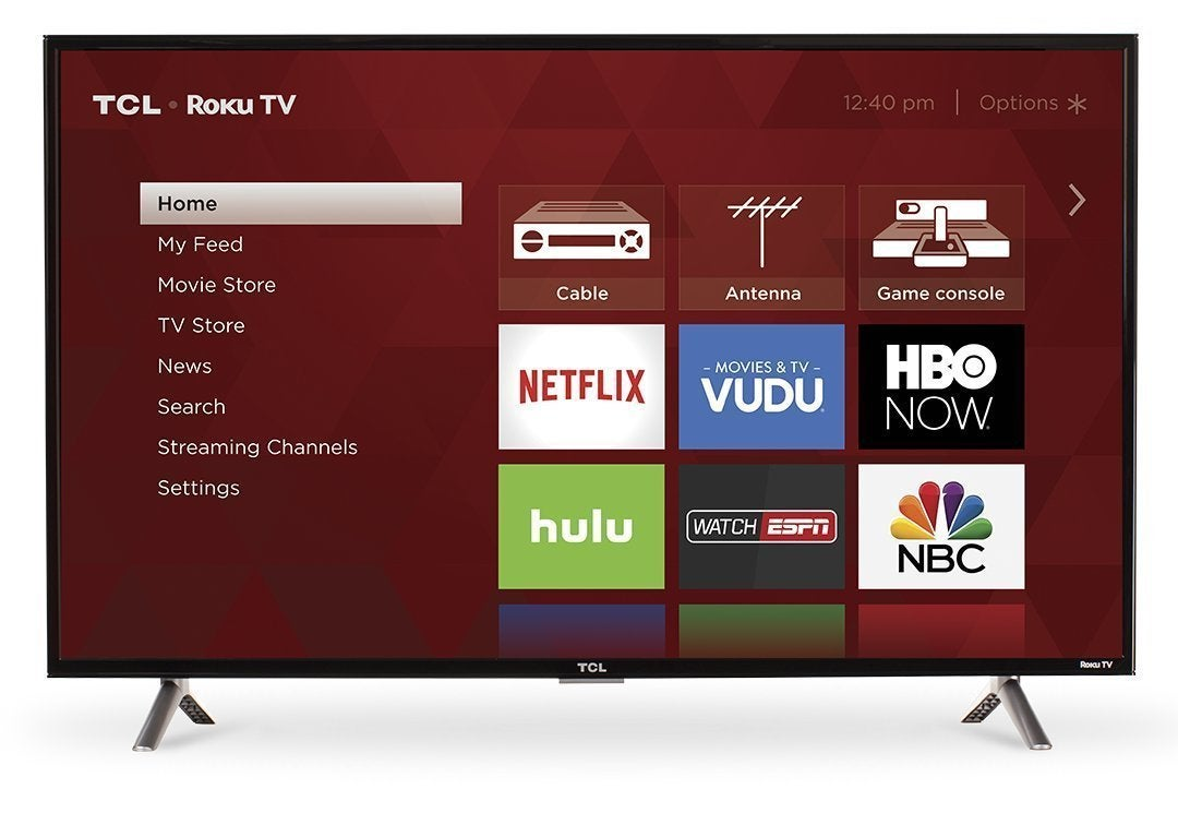 40 Inch Smart Tv Deals This Awesome 40 Inch Roku Smart Tv Is Down To A Ridiculous 200 On