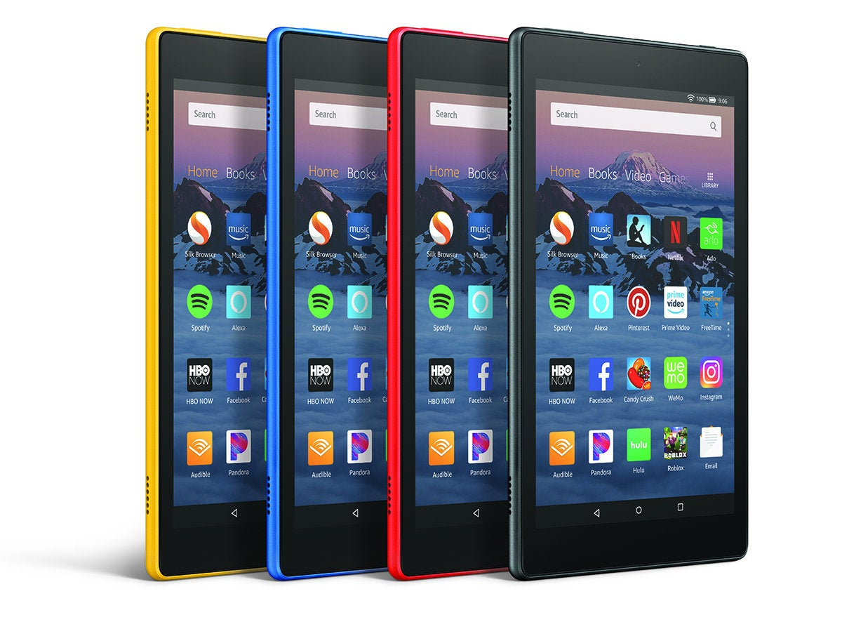 Amazon Audible On Ipad Amazon S New Fire Hd 8 Tablet Sacrifices Battery Life For