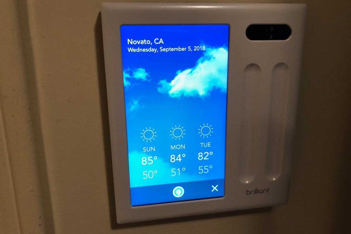 Brilliant Control review Impressive blend of switch and smart home