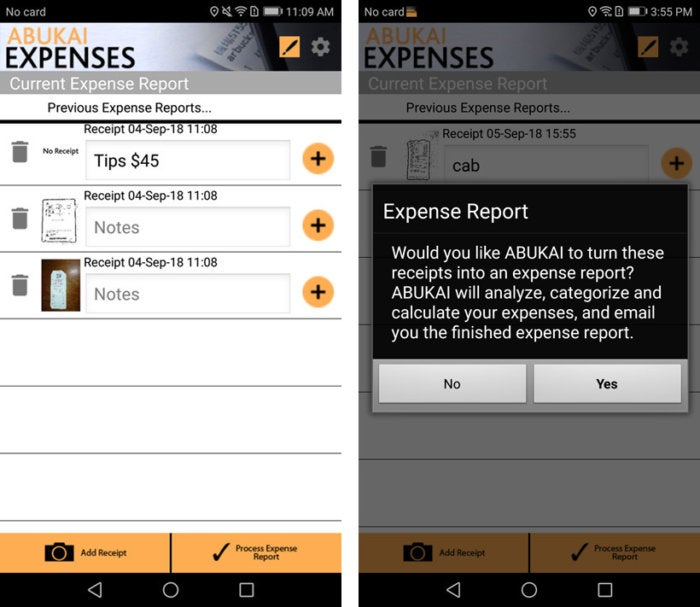 Review 6 Android apps that track your business expenses Gadget  Tech - how to track business expenses