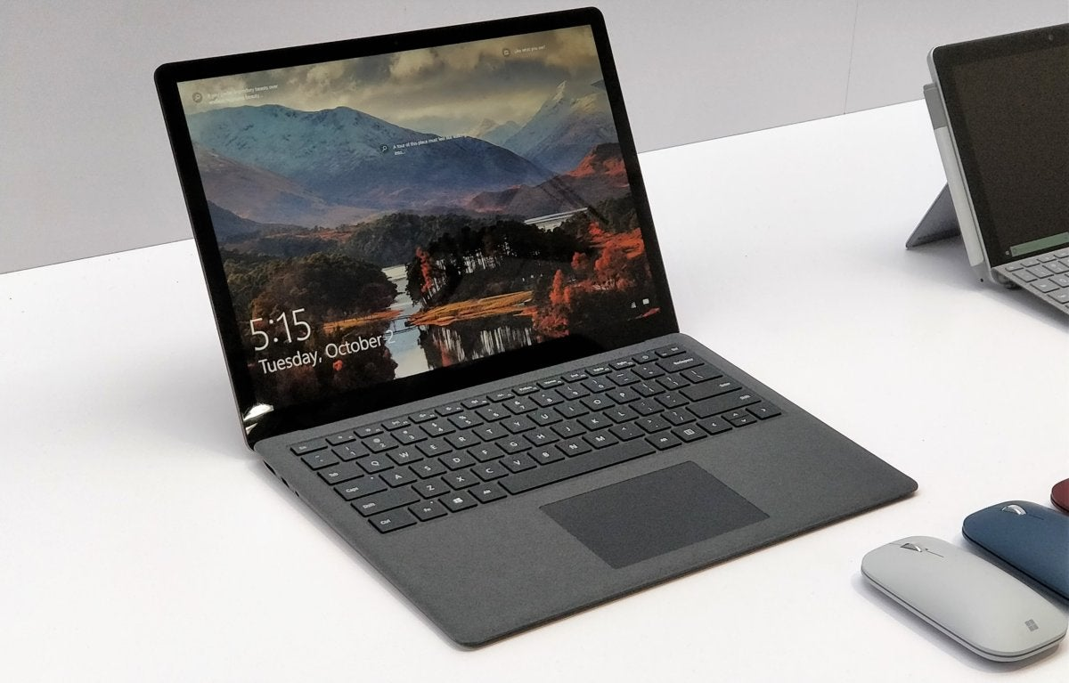Hands on with the Microsoft Surface Laptop 2 Still a great laptop
