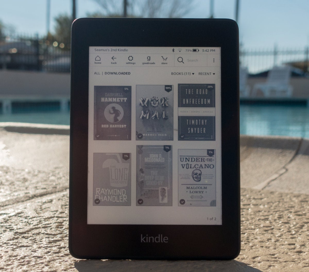 Amazon Kindle Amazon All New Kindle Paperwhite Review 2018 The Best Just Got