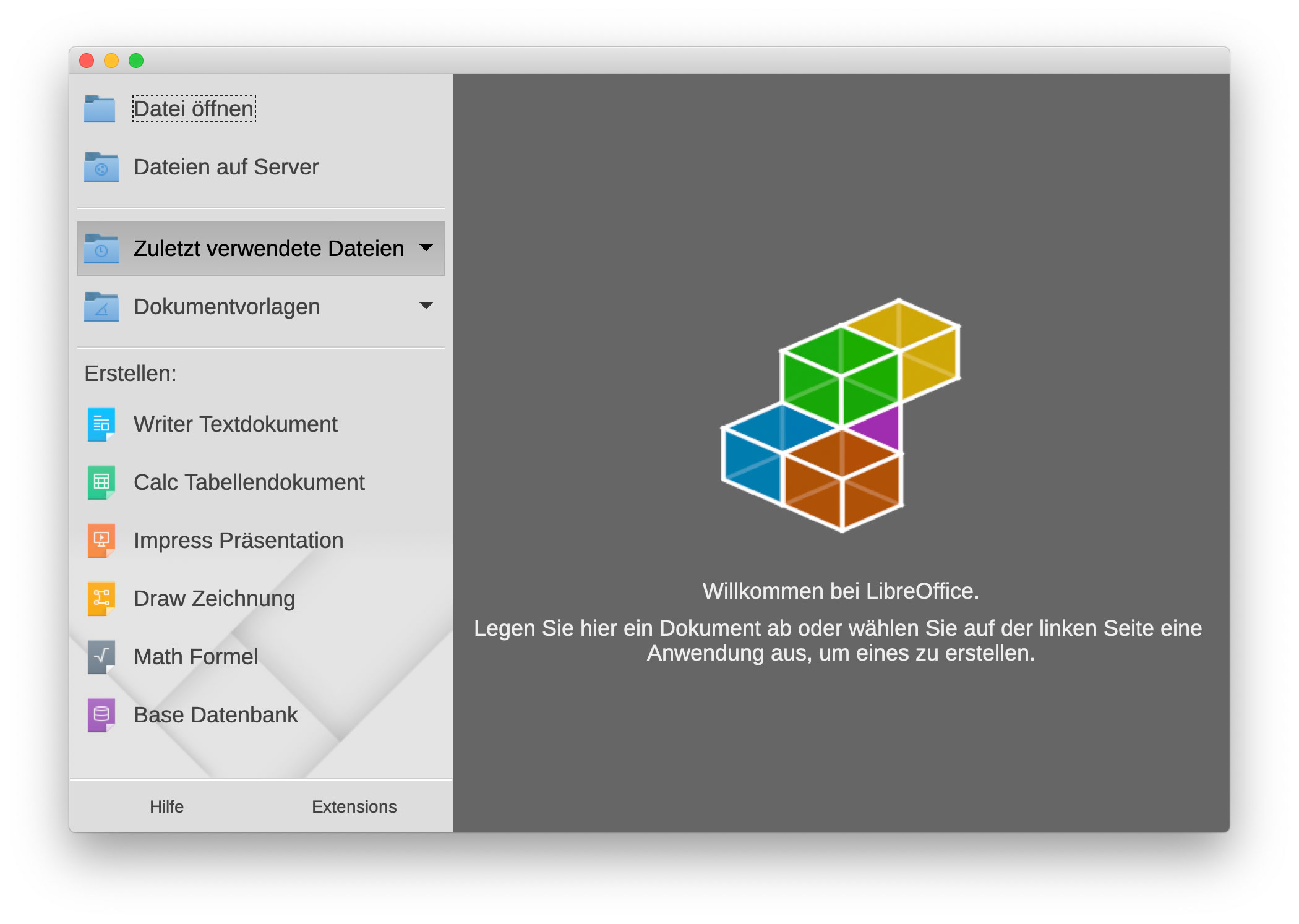 Libre Office Libreoffice Für Mac Und Windows Freie Office Alternative