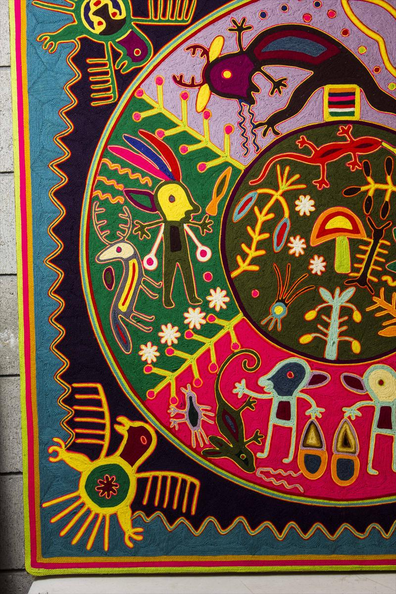 Arte Huichol For Sale Huichol Wool Painting Ecosia