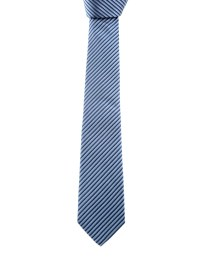 Armani Collezioni - Striped silk tie - ties & bow ties ...