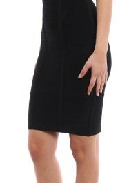 Mina dress by Herve Leger - cocktail dresses | Shop online ...