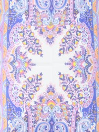 Paisley pattern silk scarf by Etro - scarves | iKRIX