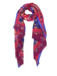 Etro - Paisley print silk wool scarf - scarves - 10007 ...