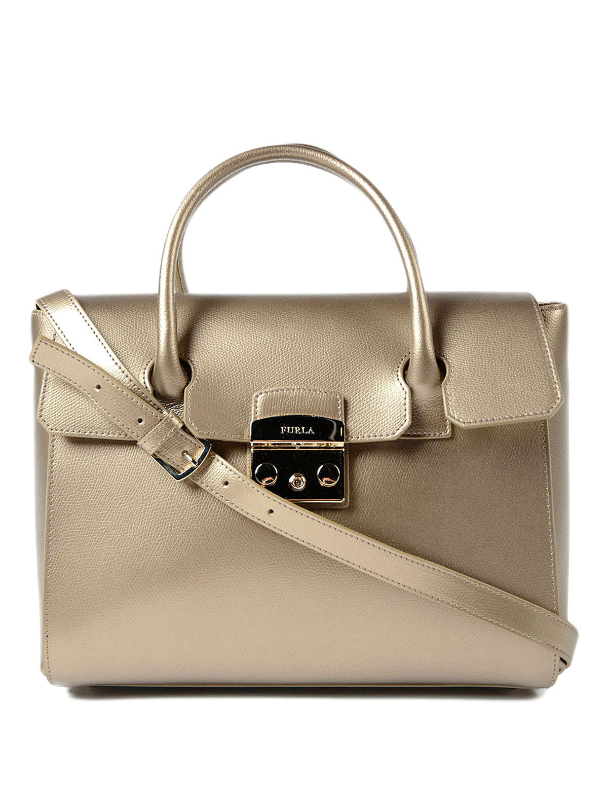 Color Bronzo Furla Borsa Metropolis Media Color Bronzo Shopper