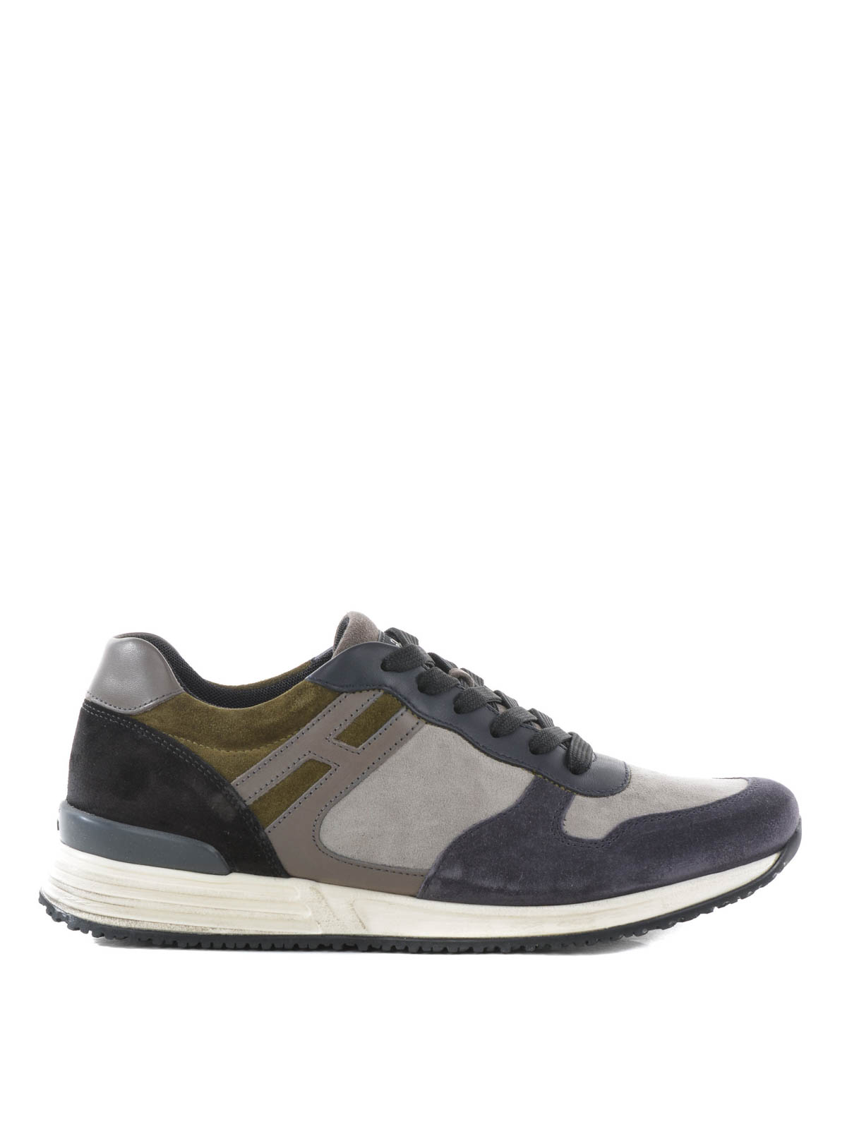 Hogan Rebel Rebel R218 Basse Scamosciate Hogan Rebel Sneakers Ikrix