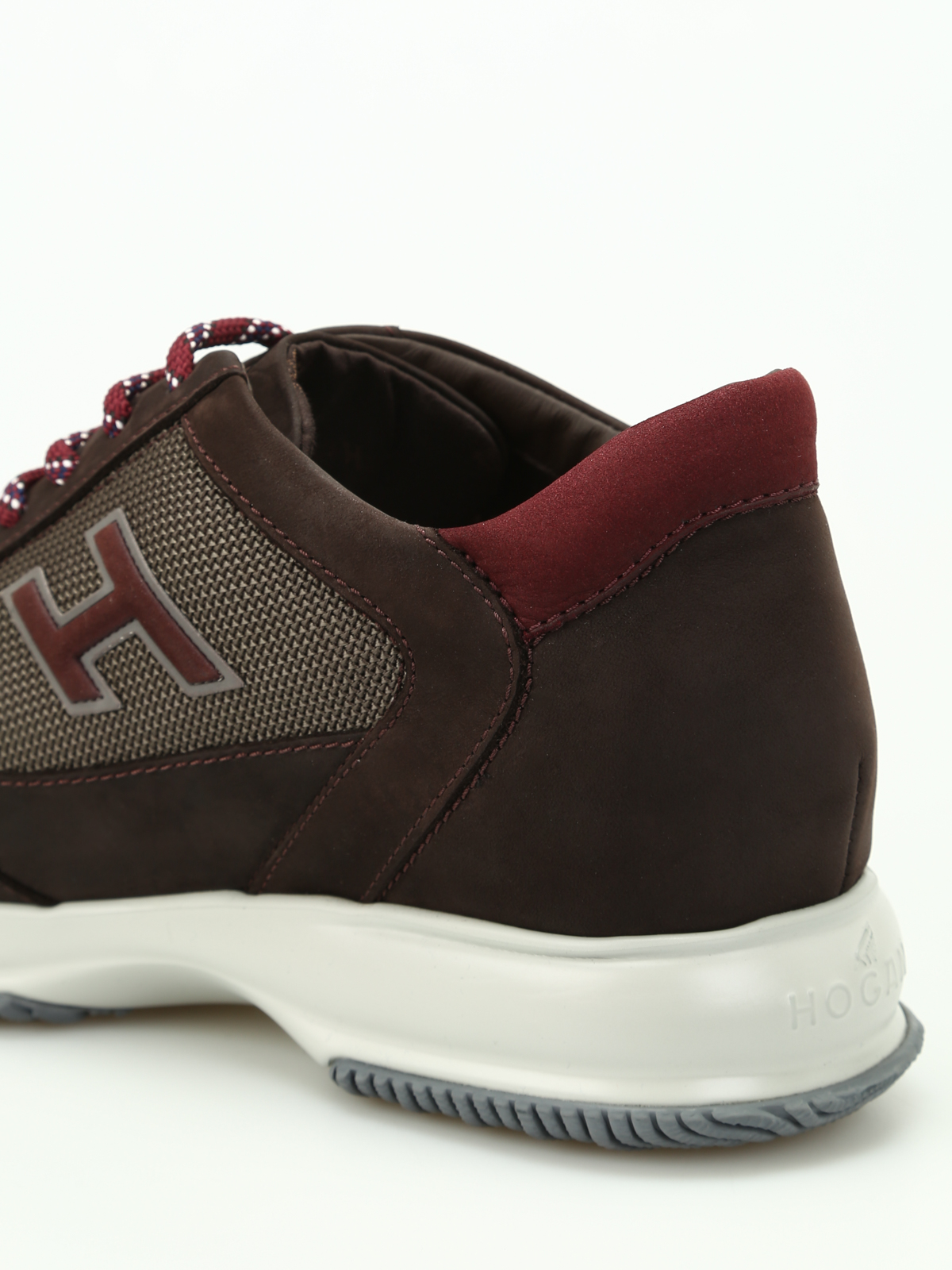 Hogan Shop Online Hogan Scarpe New Interactive In Suede Sneakers