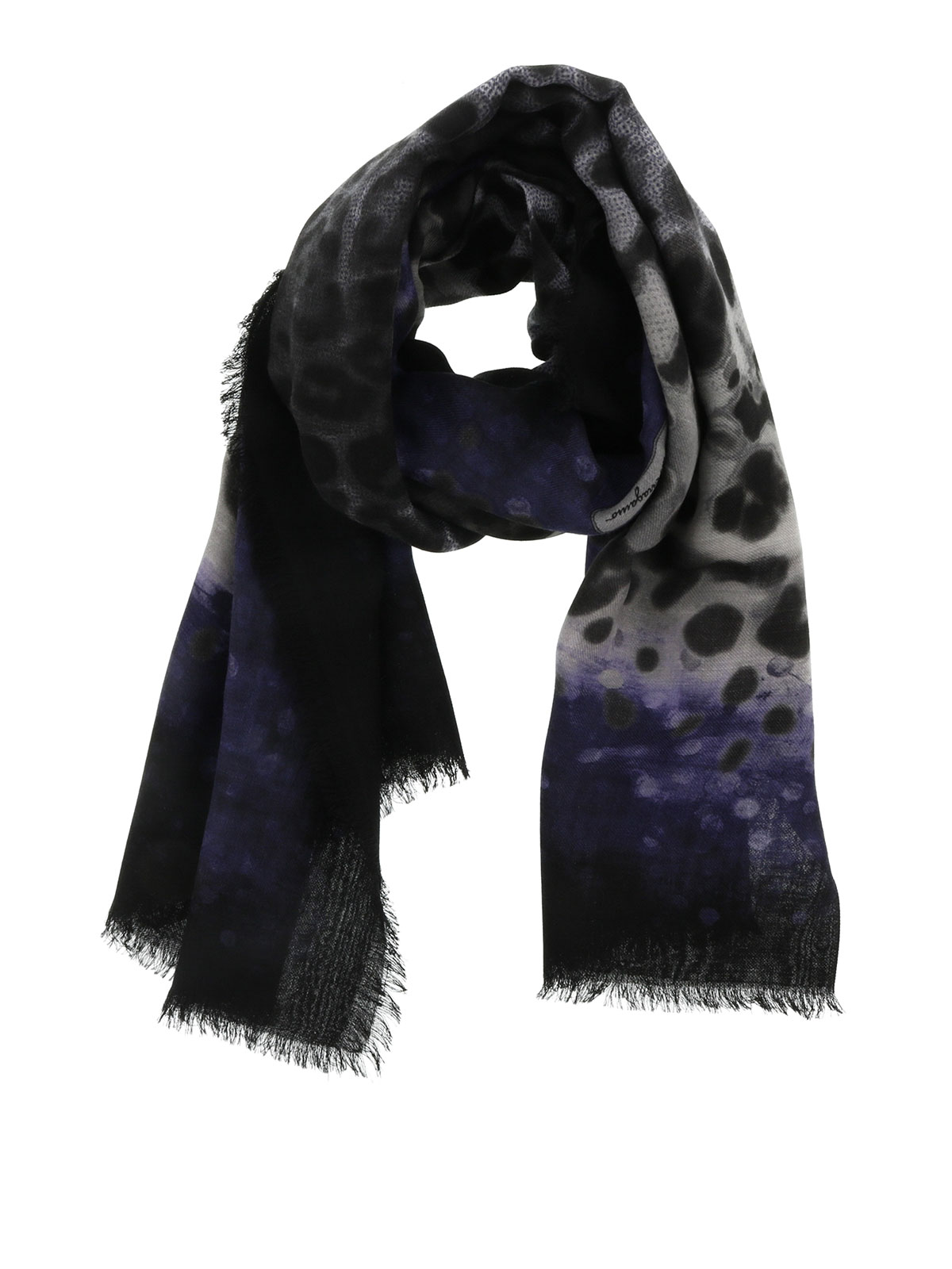 Prints For Sale Online Wool Scarf With Prints By Salvatore Ferragamo Scarves