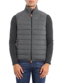 Quilted and padded vest by Save the Duck - padded jackets ...