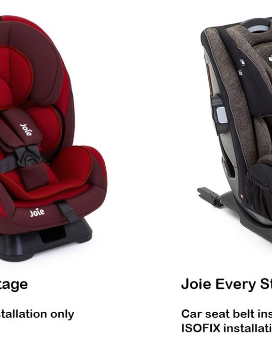 Travel System Isofix Compatible Joie Every Stage Fx Isofix Car Seat Car Seats From Birth
