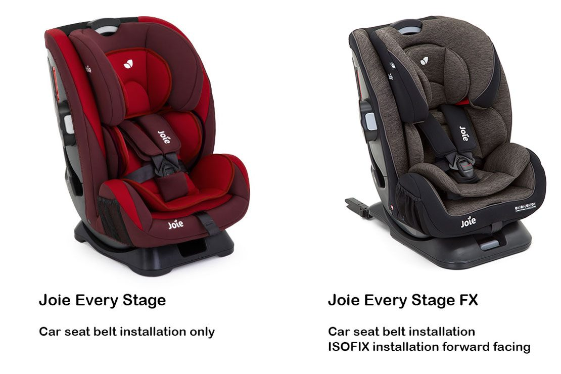 Joie 360 Isofix Installation Joie Every Stage Fx Isofix Car Seat Car Seats From Birth
