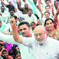 Mumbai -  PM Narendra Modi's brother leads protest against  Centre on PDS policy