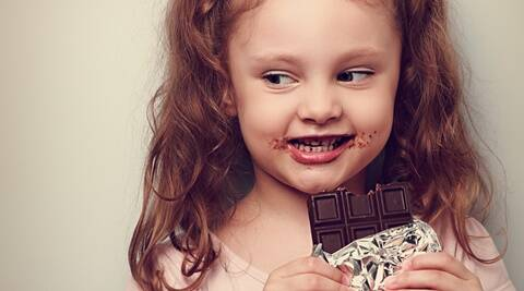 Sweet Indian Baby Girl Wallpaper Why Some Children Can T Resist Chocolates As Well As